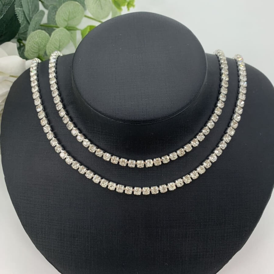 Lovely Trendy Hollow-out Silver Necklace